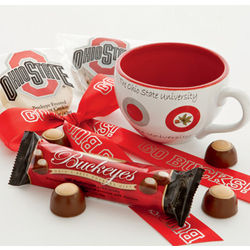Ohio State University Mug with Treats