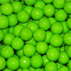 Sixlets Lime Green Candy