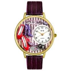 Shoe Shopper Watch with Miniatures