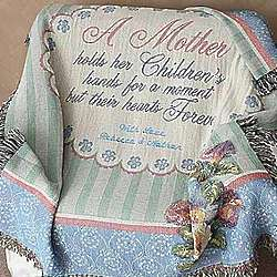 Mother's Personalized Tapestry Afghan