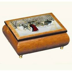 Winter Impressions Art Music Box