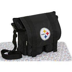 Pittsburgh Steelers Diaper Bag