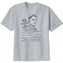 NCIS 10 Rules of Gibbs T-Shirt