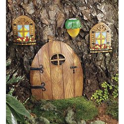 Elfin Garden Mini Door or Lantern