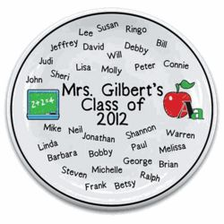 Teacher's Personalized Kid's Names Plate