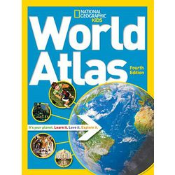 National Geographic Kid's World Atlas Book