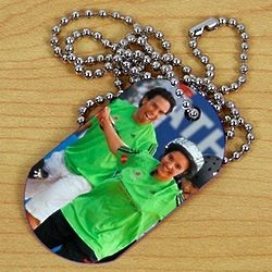 Picture Perfect Special Olympics Photo Dog Tag