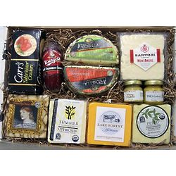 Ultimate Wisconsin Farmstead Cheese Gift Box