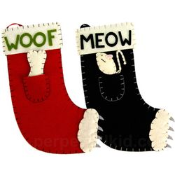 Holiday Pet Stocking with Toy