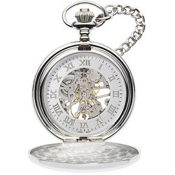 Personalized Mechanical Pocket Watch