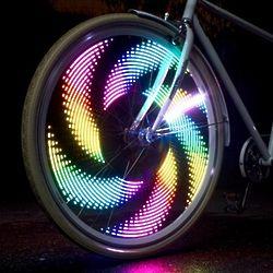 Monkey Light Colorful Bike Wheel Light M232