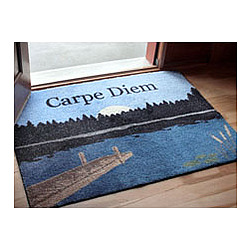 Lake Personalized Doormat