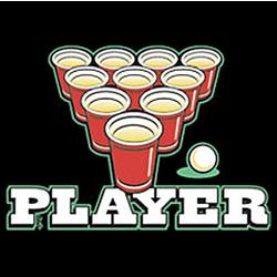 Player Beer Pong T-Shirt