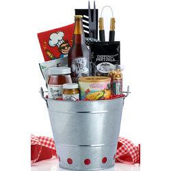 Grillin & Chillin BBQ Gift Basket - FindGift.com