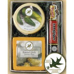Northwoods Cheese and Landjager Combo Box