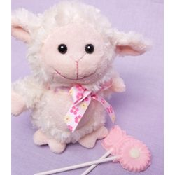 Baby Lamb Plush 'n Pops