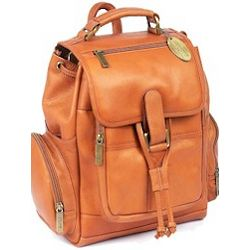 Large Traveler Leather Backpack