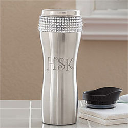 Glitz and Glam Personalized Stainless Steel Tumbler