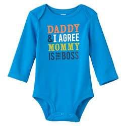Mommy is the Boss Bodysuit