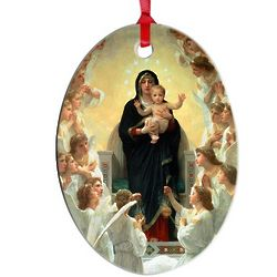 Our Lady of the Angels Ornament