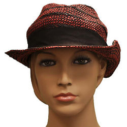 Emporio Armani Red Cellulosa Hat