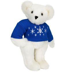 Chanukah Sweater Teddy Bear