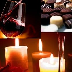 Chocolate, Candles and Wine Lovestruck of the Month Club