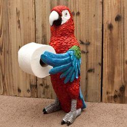 Parrothead Standing Toilet Paper Holder