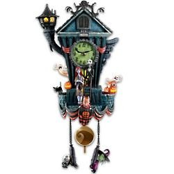 The Nightmare Before Christmas Musical Cuckoo Clock