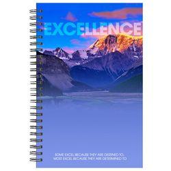 Excellence Mountain Spiral Notebook