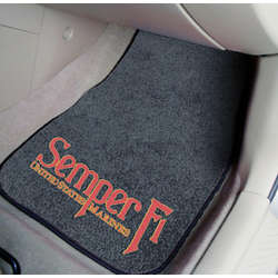 Semper Fi US Marines Car Floor Mats