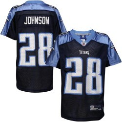Tennessee Titans Chris Johnson Youth Alternate Replica Jersey