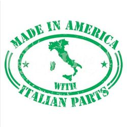 Made In America Italian Parts T-Shirt