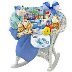 Baby Boy Rocker Gift