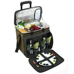 Eco Picnic Cooler on Wheels for 4