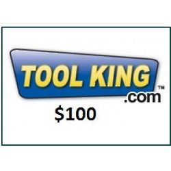 Tool King $100 Internet Gift Card