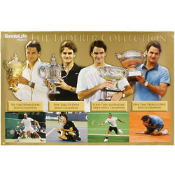 Federer Grand Slam Collection Poster