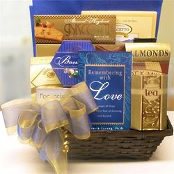 With Love Sympathy Gift Basket
