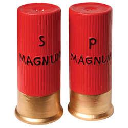 Shotgun Shell Salt and Pepper Shaker Set