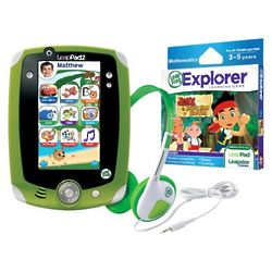 LeapPad2 Explorer with Jake and the Never Land Pirates Set