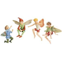 Boy Flower Fairy Figurines