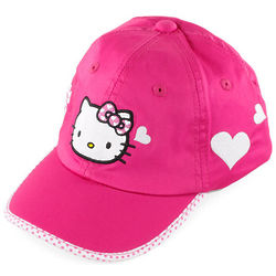 Hello Kitty Magenta Tennis Hat