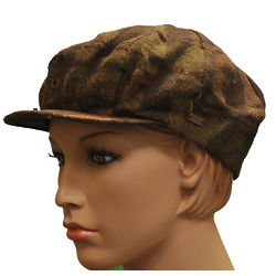 Emporio Armani Green Wool Hat
