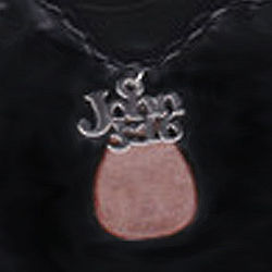 John 3:16 Hand Crafted Birch Bark Necklace