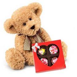 Bear-er of Sweetheart Belgian Chocolate Oreos Gift Box