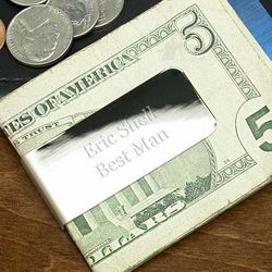Madison Avenue Personalized Money Clip