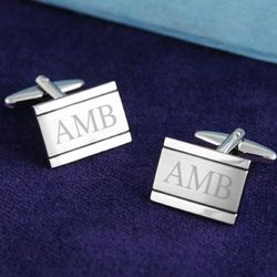 Personalized Edward Cuff Links