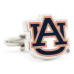 Auburn University Tigers Enamel Cufflinks