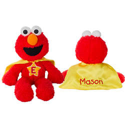 Elmo Superhero with Embroidered Cape