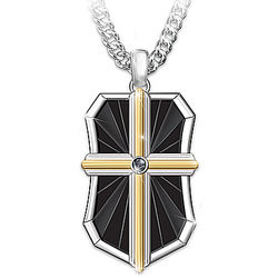 Bless My Son Religious Stainless Steel Pendant